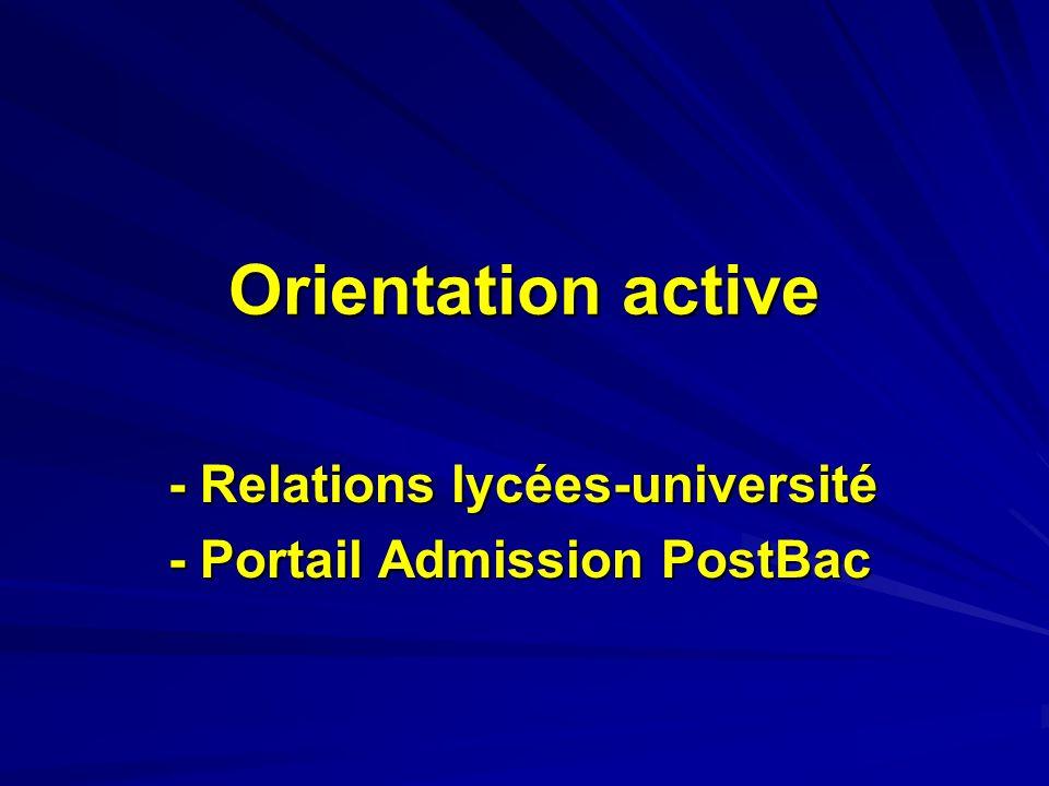 Portail Admission PostBac 7/11 Répartition des candidatures des lycéens de terminale selon le sexe