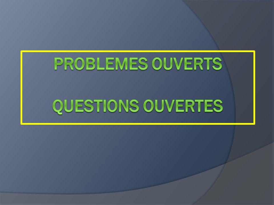 les problèmes destinés à engager les élèves dans la construction de nouvelles connaissances (souvent appelés « situations-problèmes »).