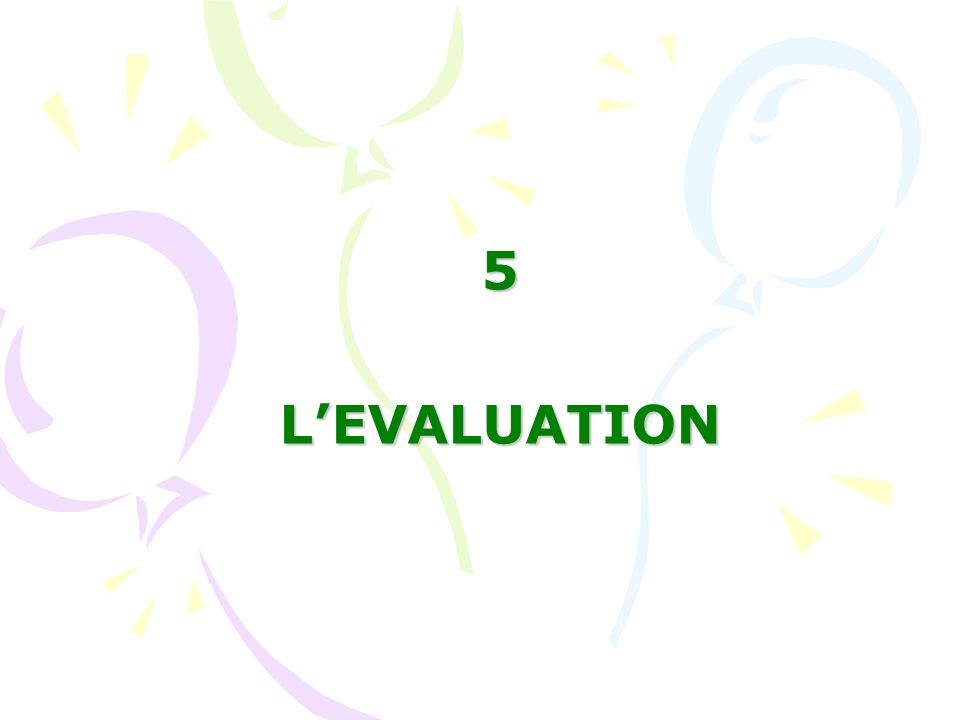 5LEVALUATION