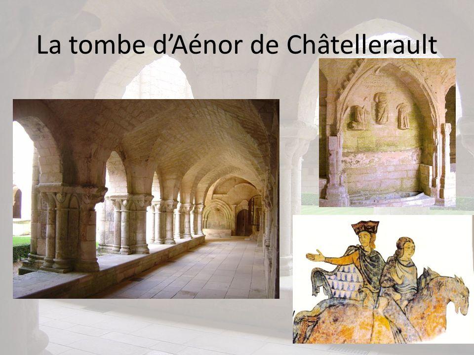 La tombe dAénor de Châtellerault