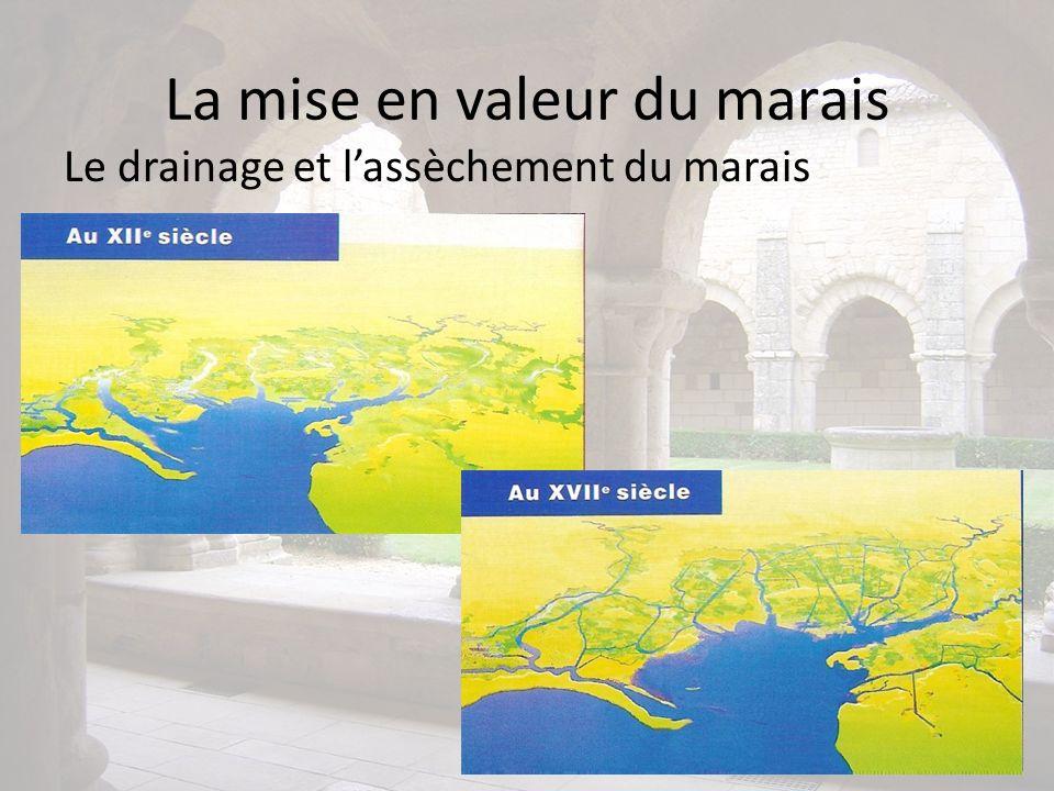 La mise en valeur du marais Le drainage et lassèchement du marais