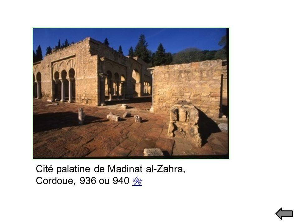 Cité palatine de Madinat al-Zahra, Cordoue, 936 ou 940