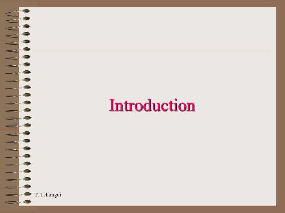 T. Tchangai Introduction