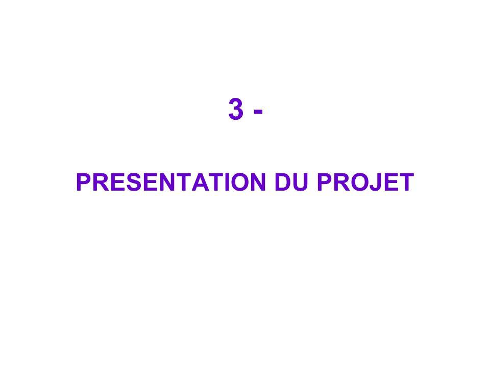 3 - PRESENTATION DU PROJET