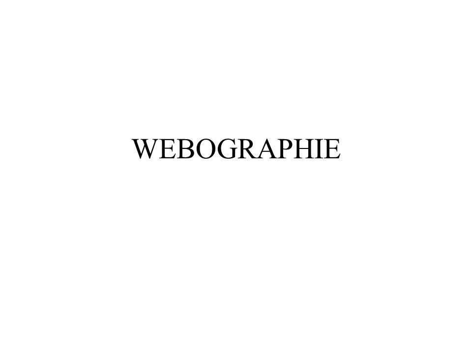 WEBOGRAPHIE
