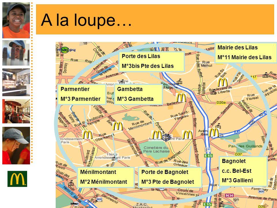 Ménilmontant M°2 Ménilmontant Gambetta M°3 Gambetta Porte de Bagnolet M°3 Pte de Bagnolet Porte des Lilas M°3bis Pte des Lilas Parmentier M°3 Parmenti