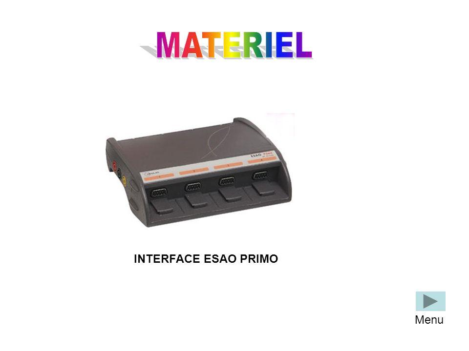 INTERFACE ESAO PRIMO Menu