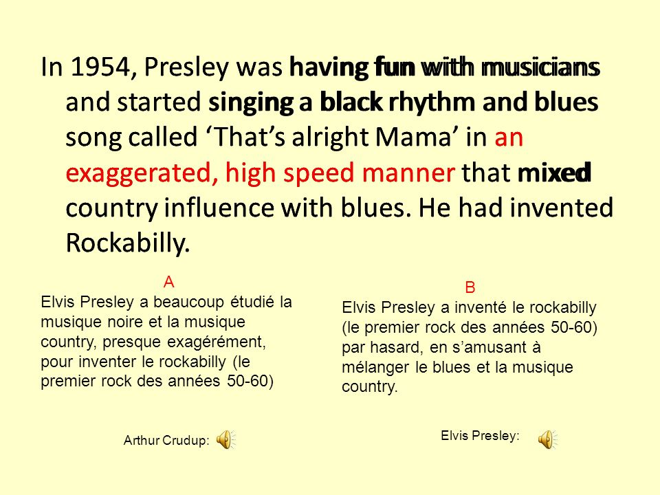 Elvis Presley was a combination of vocal talent, good looks and scandalous dance moves.