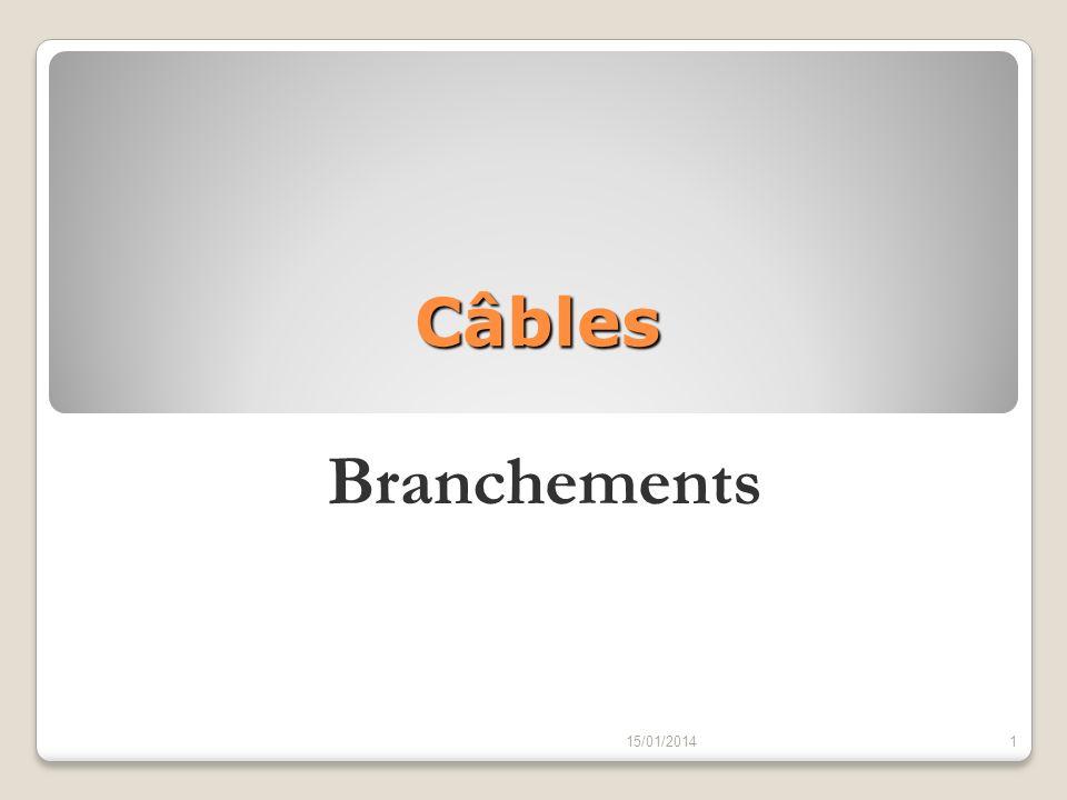 Câbles Branchements 15/01/20141