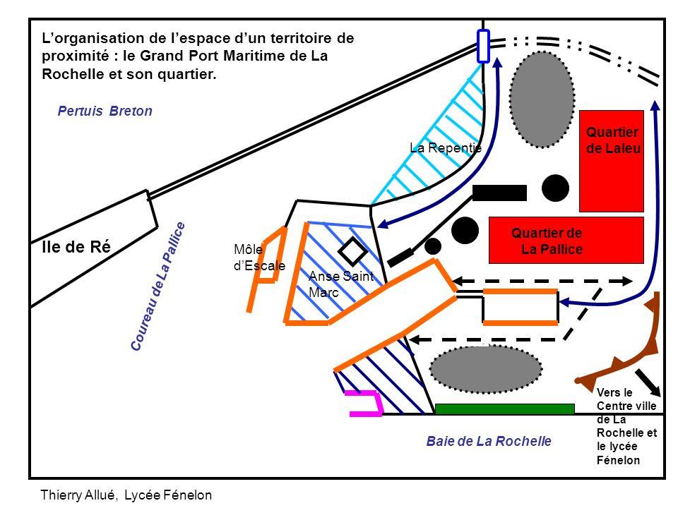 Ile de Ré Pertuis Breton Quartier de La Pallice Quartier de Laleu Lorganisation de lespace dun territoire de proximité : le Grand Port Maritime de La