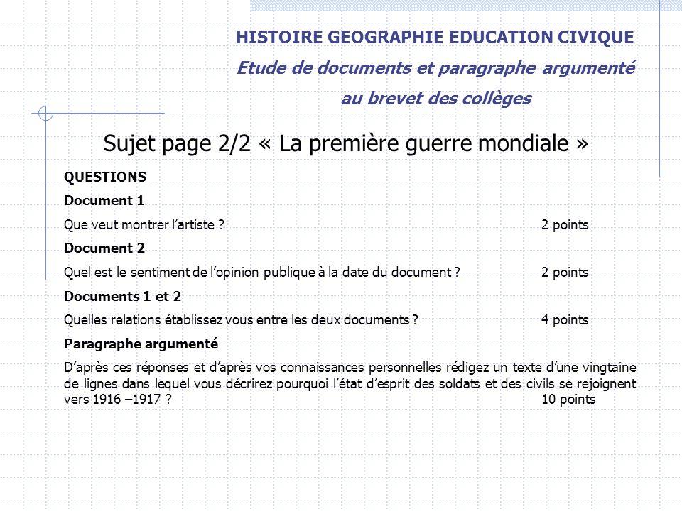 Dissertation Sur La Mort