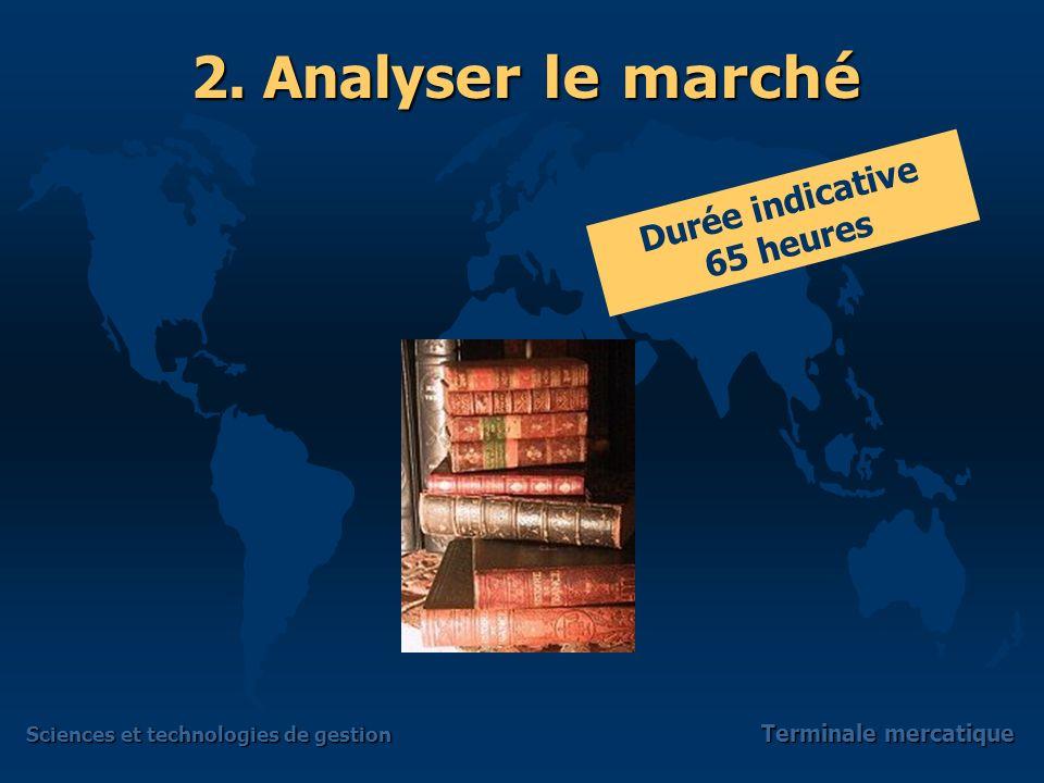 Sciences et technologies de gestion Terminale mercatique 2.
