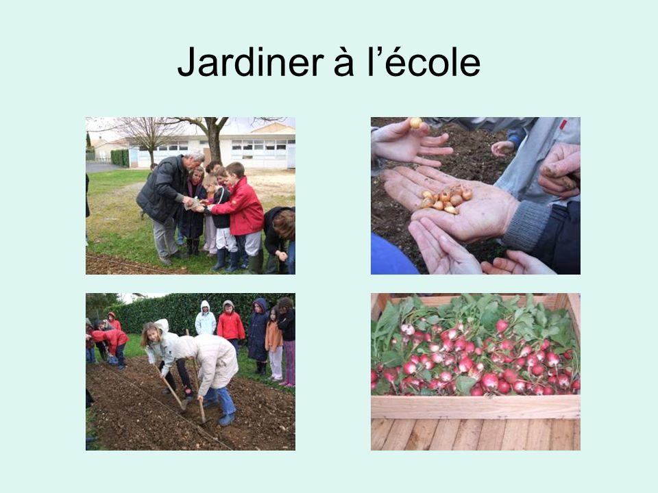 Jardiner à lécole