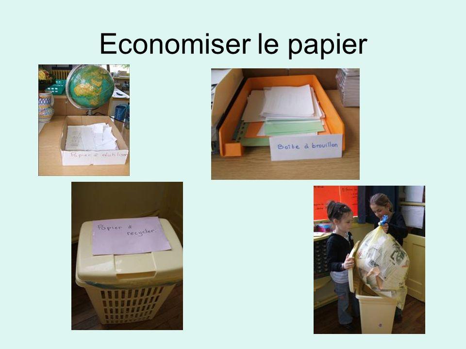 Economiser le papier
