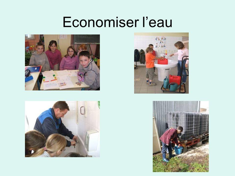 Economiser leau