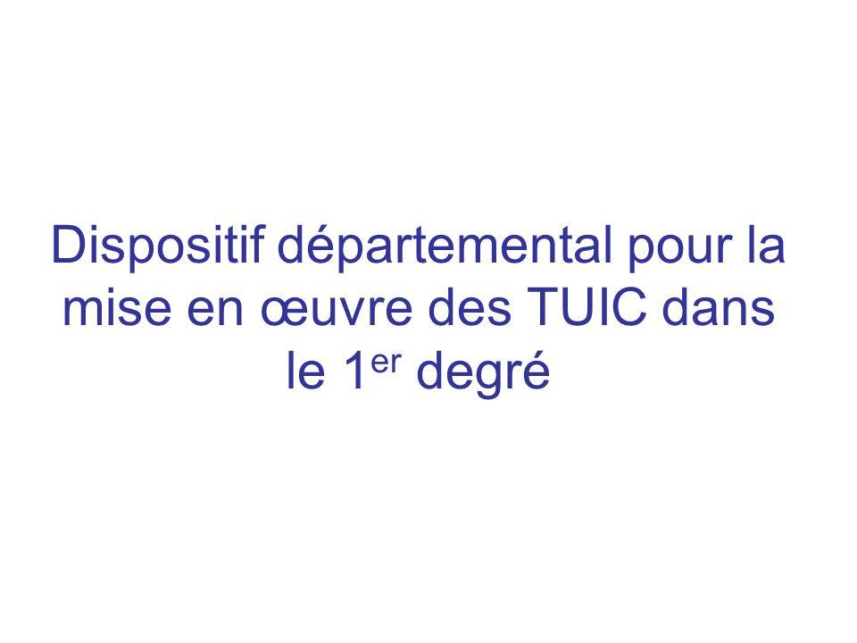 Cadre institutionnel Loi dorientation et de programme pour lécole (23 avril 2005) Socle commun de connaissances et de compétences Maîtrise des TUIC