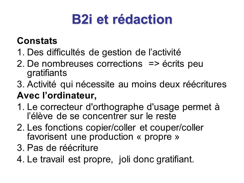Un accompagnement à la mise en œuvre du B2i Un accompagnement à la mise en œuvre du B2i http://primtice.education.fr/ http://www.b2i.education.fr/doc/index.php http://www.educnet.education.fr/primaire/tic- primairehttp://www.b2i.education.fr/doc/index.php http://www.educnet.education.fr/primaire/tic- primaire Le B2i, quels outils pour le maître ?