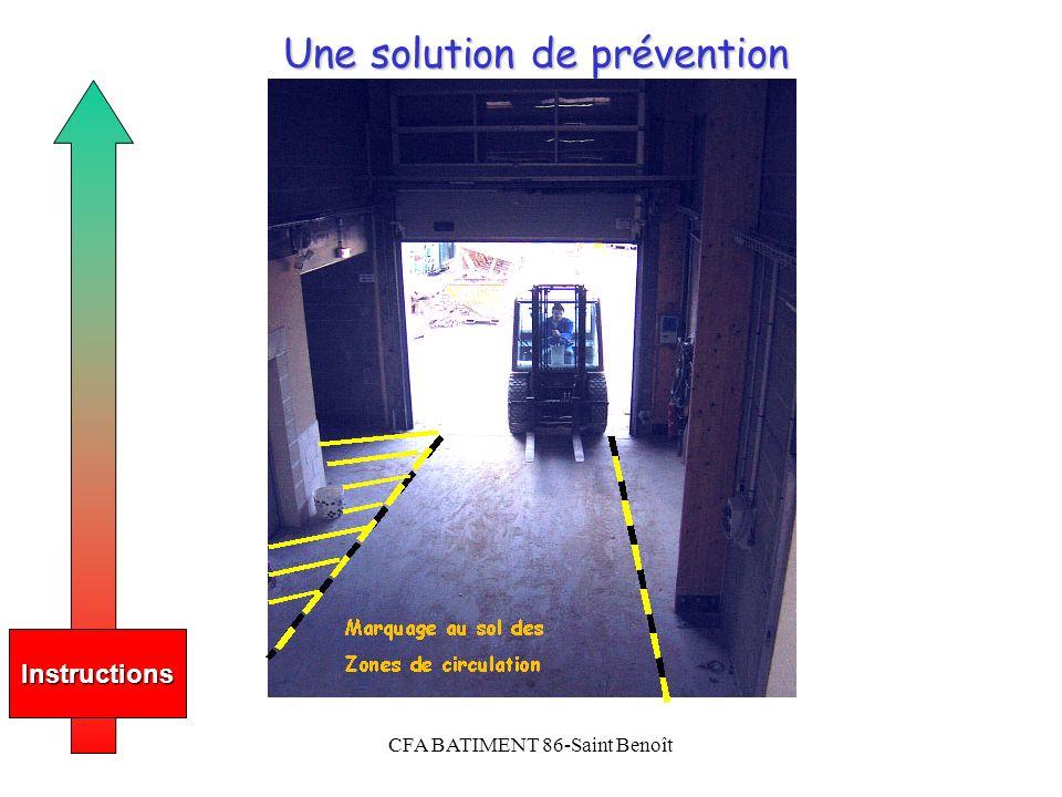 CFA BATIMENT 86-Saint Benoît Une solution de prévention Photo JPEG 800x600 ou description Instructions