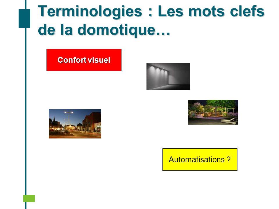 Confort Thermique dété et dhiver Automatisations ? Terminologies : Les mots clefs de la domotique…