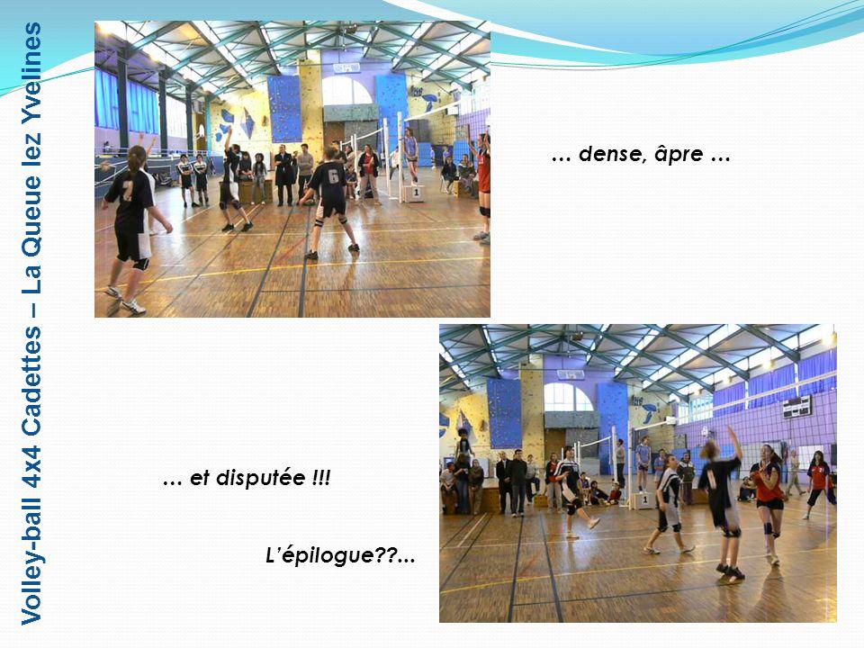 Volley-ball 4x4 Cadettes – La Queue lez Yvelines 1 er – Lycée A.