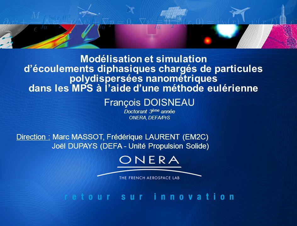 Modélisation et simulation découlements diphasiques chargés de particules polydispersées nanométriques dans les MPS à laide dune méthode eulérienne Fr