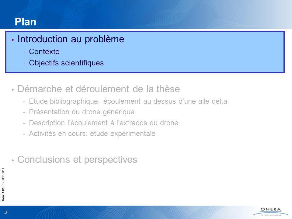 DAAP/MMHD - JDD 2011 3 Introduction au problème Contexte Objectifs scientifiques Démarche et déroulement de la thèse Etude bibliographique: écoulement