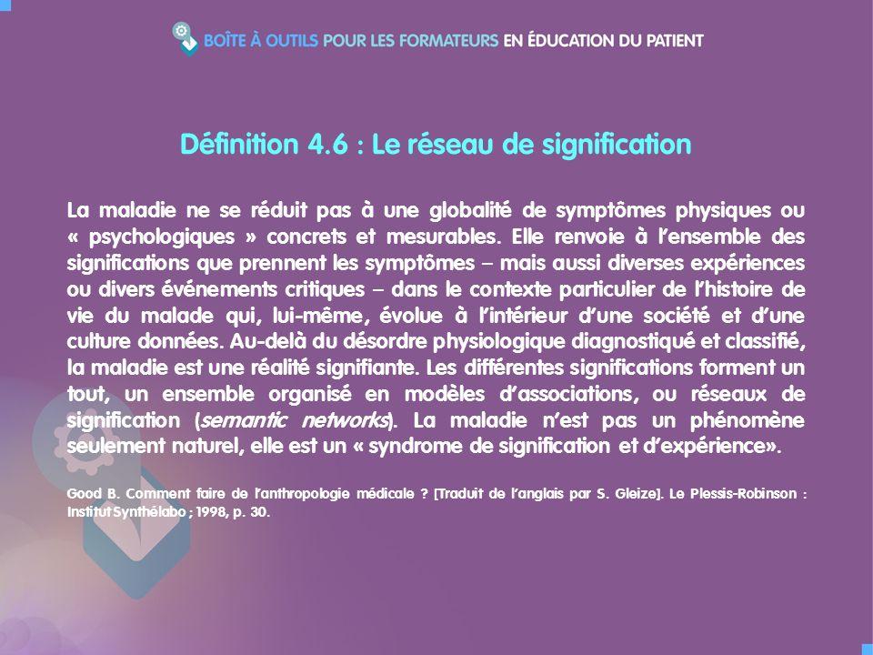 La maladie ne se réduit pas à une globalité de symptômes physiques ou « psychologiques » concrets et mesurables.
