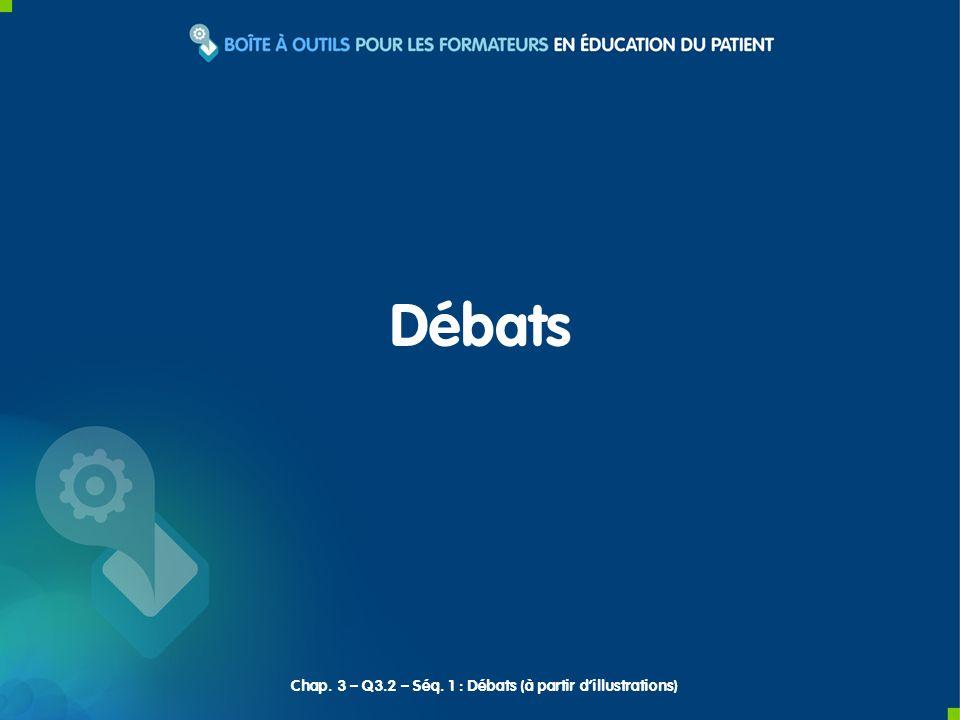 Débats Chap. 3 – Q3.2 – Séq. 1 : Débats (à partir dillustrations)