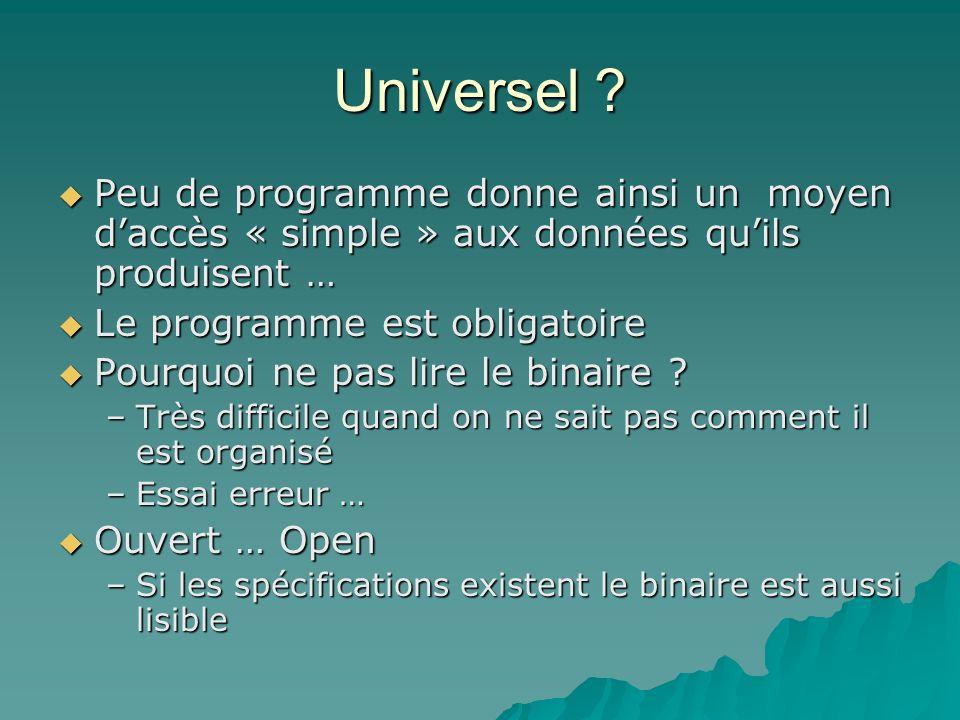 Universel .