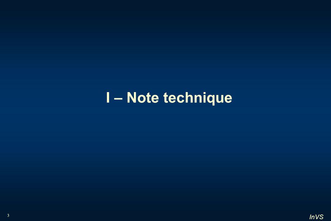 InVS 3 I – Note technique