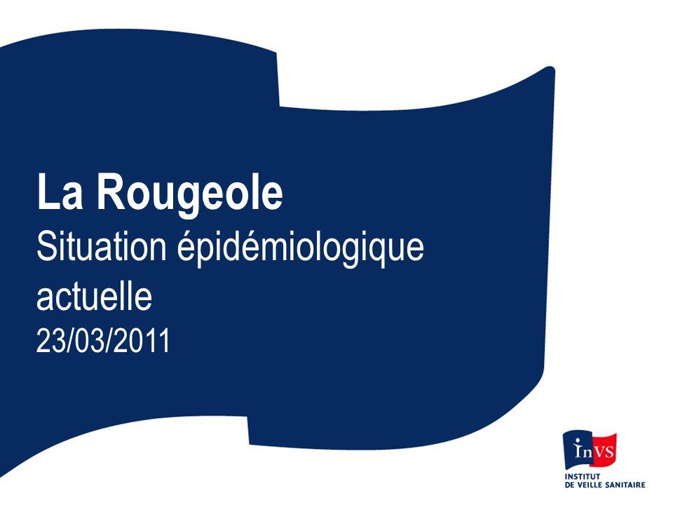 Proportions de cas vaccinés par groupes d âges en France 2010