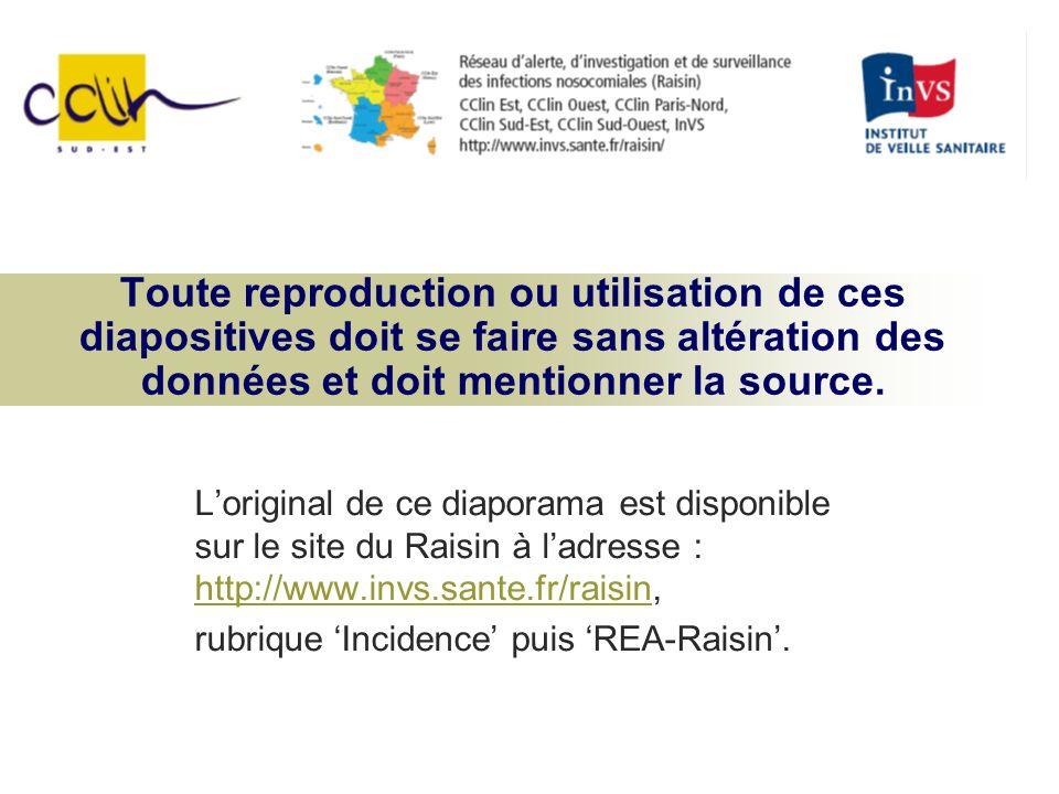 Distribution des services selon les taux d incidence pour 1000 j d exposition REA-RAISIN 2006 150 services 2006