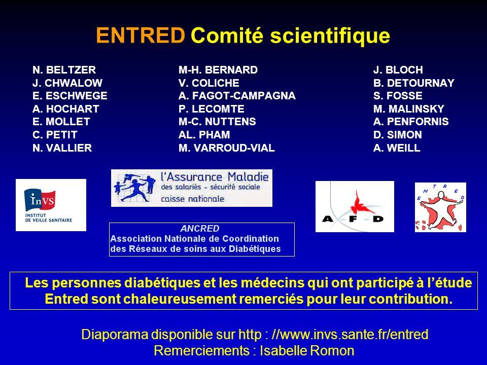 ENTRED Comité scientifique N. BELTZER M-H. BERNARD J.