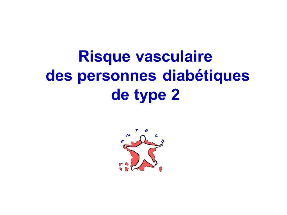 22 Risque vasculaire des personnes diabétiques de type 2