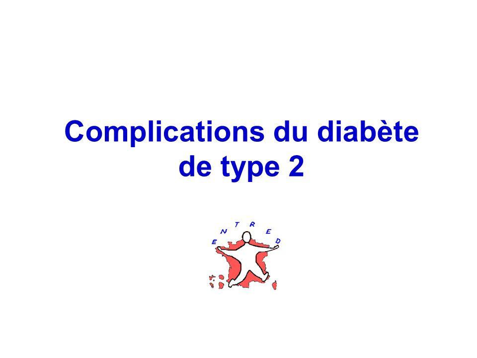 33 Complications du diabète de type 2