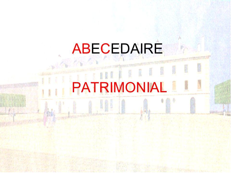 ABECEDAIRE PATRIMONIAL