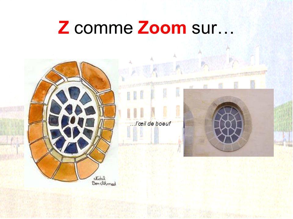 Z comme Zoom sur… …lescalier