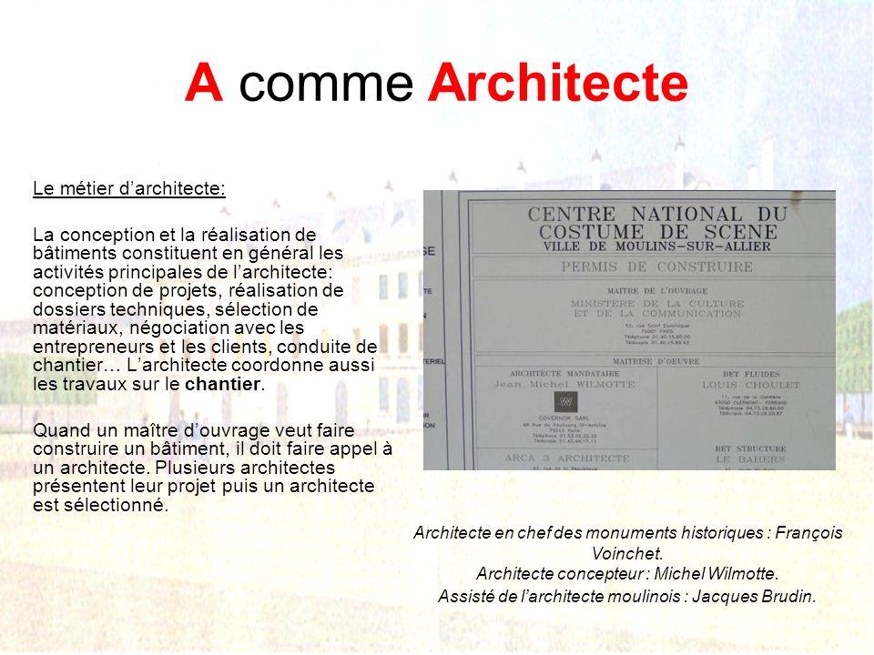 P comme Patrimoine Les principaux monuments du patrimoine moulinois
