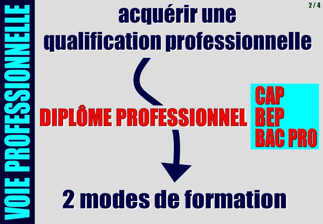 acquérir une qualification professionnelle acquérir une qualification professionnelle 2 / 4