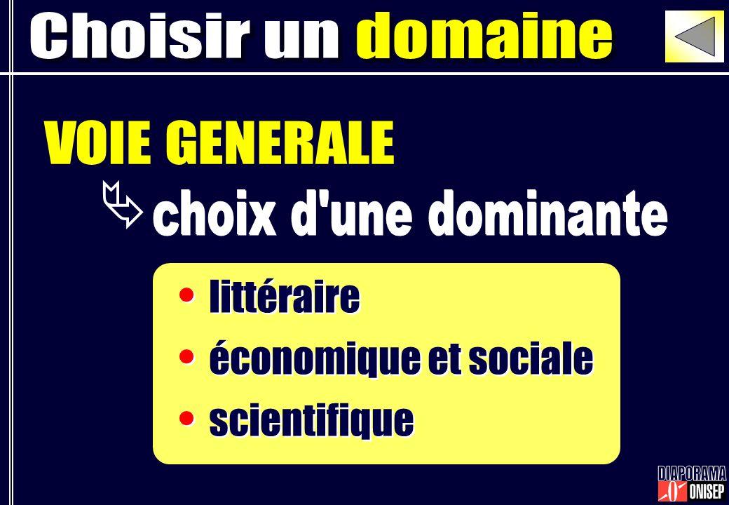 littéraire économique et sociale scientifique littéraire économique et sociale scientifique