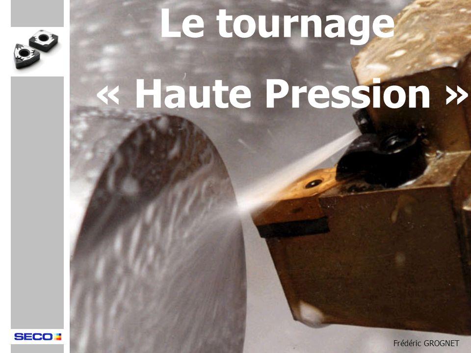 Le tournage « Haute Pression » Frédéric GROGNET