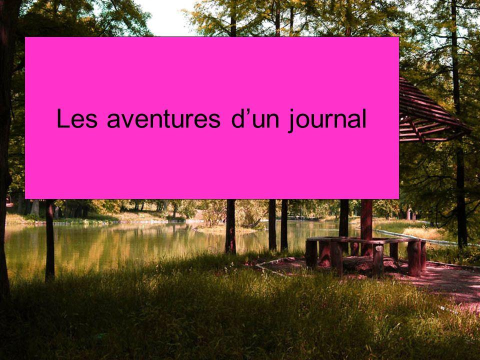 Les aventures dun journal