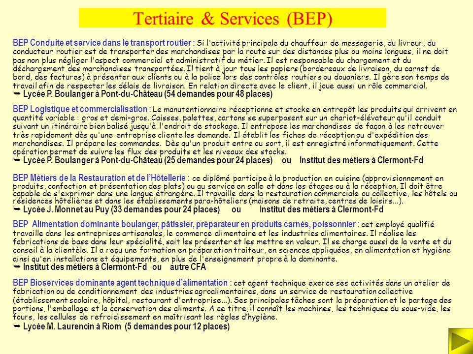 Tertiaire & Services (Bac Pro) BAC PRO 3 ans Photographie : cette formation prépare aux métiers d'assistant photographe ou de technicien de laboratoir