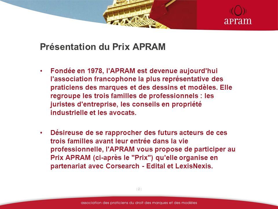 Sujet du Prix APRAM 2012 Le référencement sur Internet, menace ou opportunité pour les titulaires de droits de propriété intellectuelle .