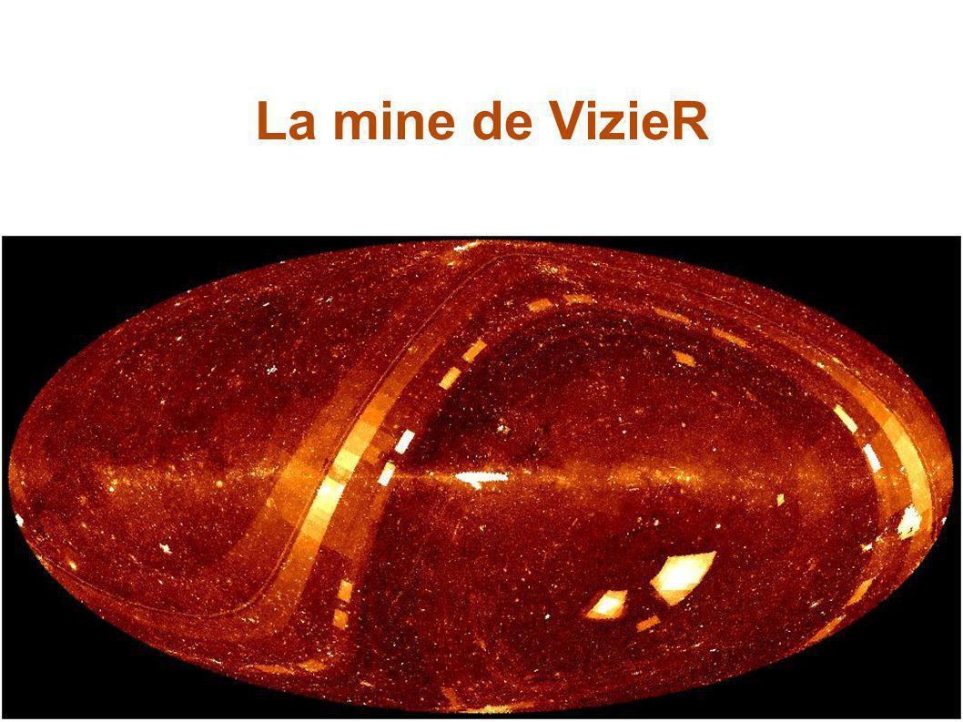 S. Derriere –Ecole CNRS Vars, 25/03/2005 57 VizieR Provenance des catalogues: – publication électronique de tables des journaux – numérisation de plaq