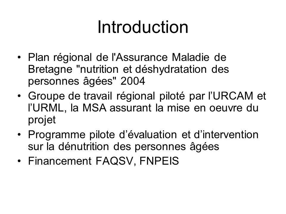 Introduction Plan régional de l'Assurance Maladie de Bretagne