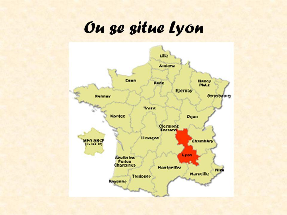 Ou se situe Lyon