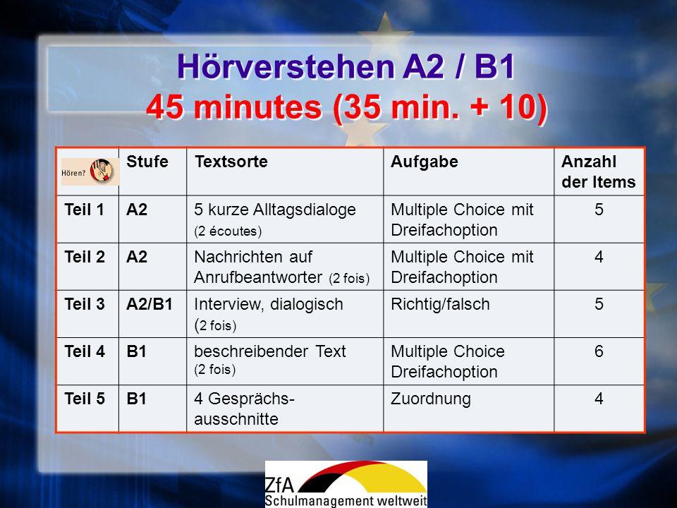 Critère qualitatif Critère : Correction de la langue / Korrektheit GrammatikAussprache - gute Beherrschung = syntaxe globalement correcte, rares fautes daccord, bonne maîtrise des temps.