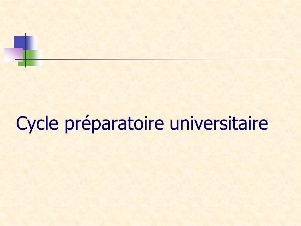 Cycle préparatoire universitaire