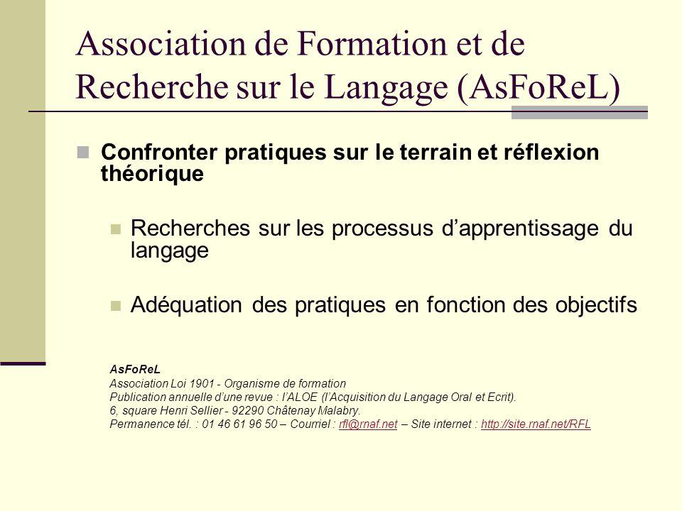 Processus dapprentissage du langage 3 questionnements : 1- Que signifie : apprentissage du langage .
